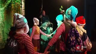 """Съемки фильма «Знахарь» на «Первом канале» Сцена спектакля """"Белоснежка"""""""