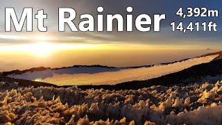 Mt Rainier - Climb to the Summit via the DC Route