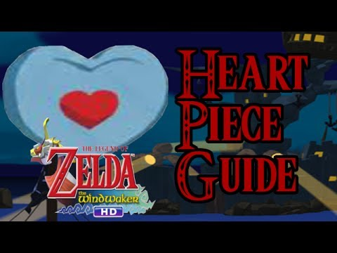 Wind Waker HD Piece of Heart Guide