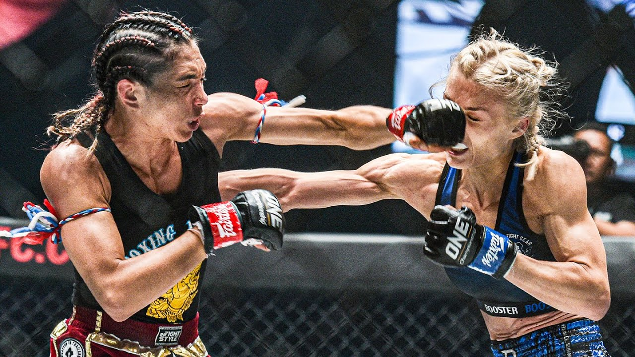 Janet Todd's SLICK Striking | The Best Female Kickboxer In The World?