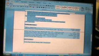 COPY AND PASTE A COVER LETTER AND RESUME INTO AN EMAIL 021811