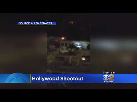 Caught On Tape: Wild Hollywood Shootout Between LAPD, Suspect Mp3