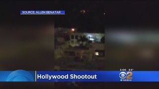 Caught On Tape: Wild Hollywood Shootout Between LAPD, Suspect