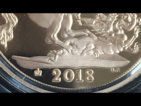 2018 Proof Full Gold Sovereign ,65th coronation anniversary mint mark