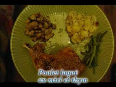 poulet-laqué-au-miel-et-au-thym---recette-facile-pour-le-réveillon-ou-repas-de-fête