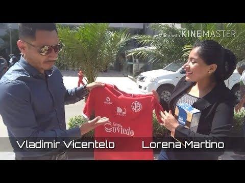 Conversando con Vicentelo en Chiclayo