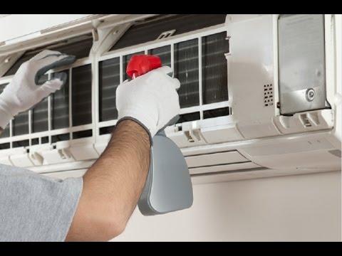 Como limpiar un aire acondicionado youtube for Como montar un aire acondicionado