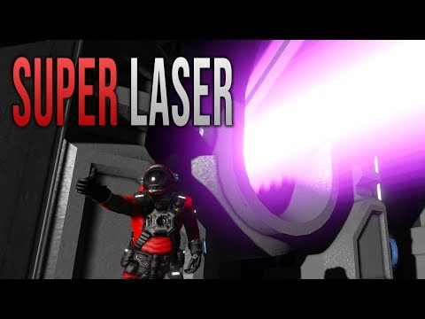 SUPER LASER! - Space Engineers Mod!