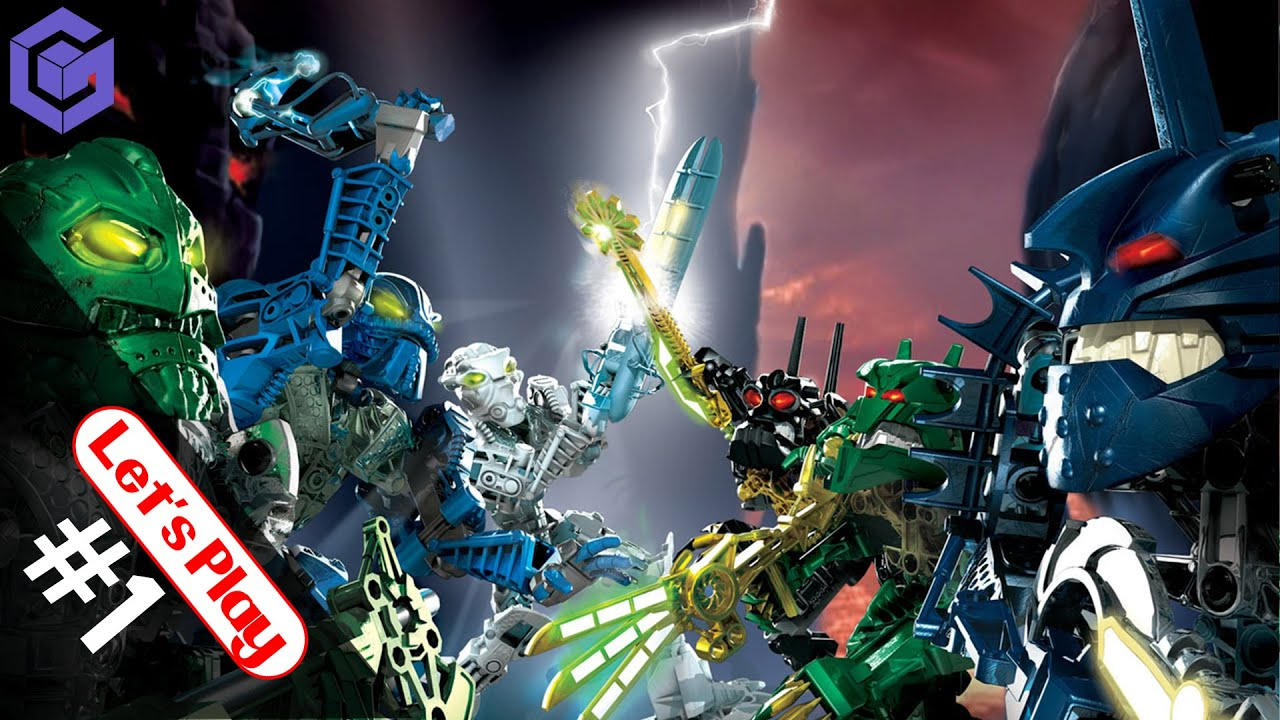 Lets Play Bionicle Heroes GameCube Pt 1