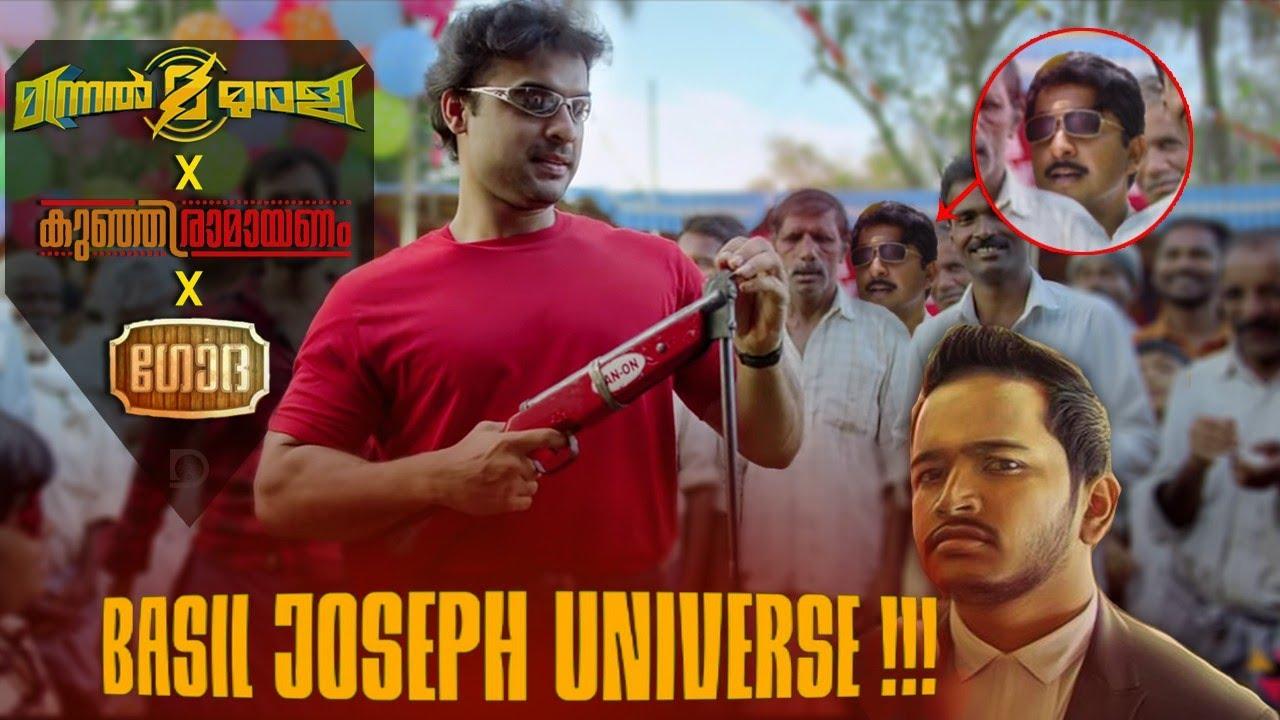 Basil Joseph Universe | Minnal Murali | Godha | Kunjiramayanam | Duo media