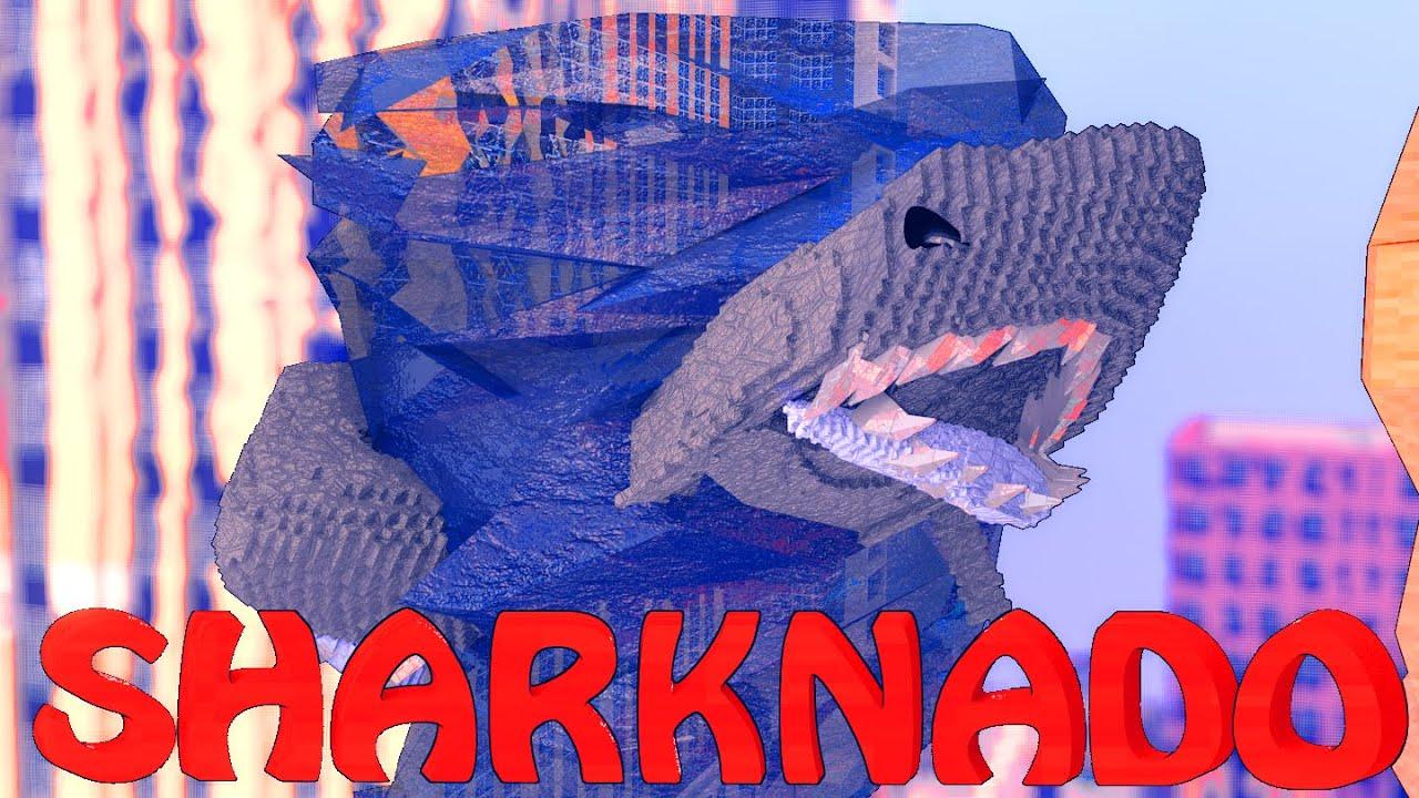 Download Minecraft | SHARKNADO APOCALYPSE - Shark Plaque! (Sharks, Boats, Jaws)