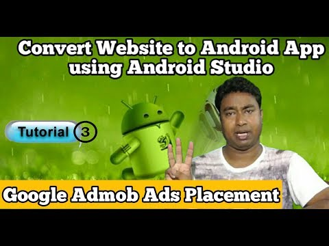 How to Convert any Website in to Android app by using Android Studio ! Tutorial - 3