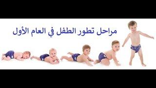 السنة الاولي من عمر الطفل - تطور الطفل في السنة الاولى من عمره
