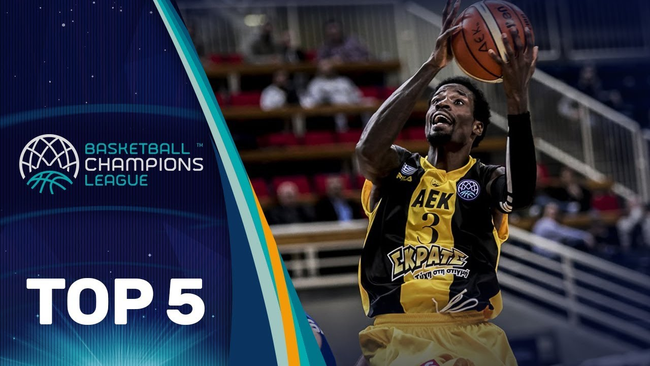 Top 5 Plays: AEK - Basketball Champions League 2017