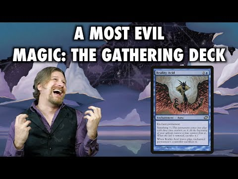 A Most Evil Magic: The Gathering Deck for Pauper: Acid Trip