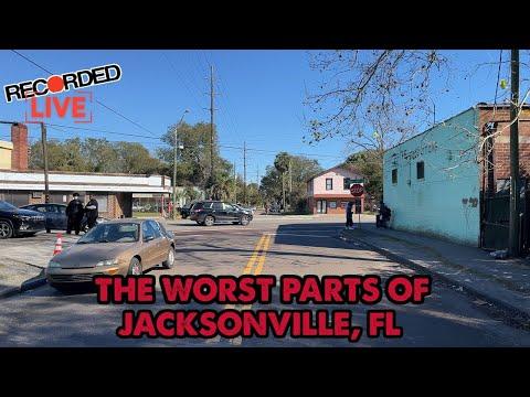 Here's Jacksonville, Florida's Most Dangerous Neighborhood