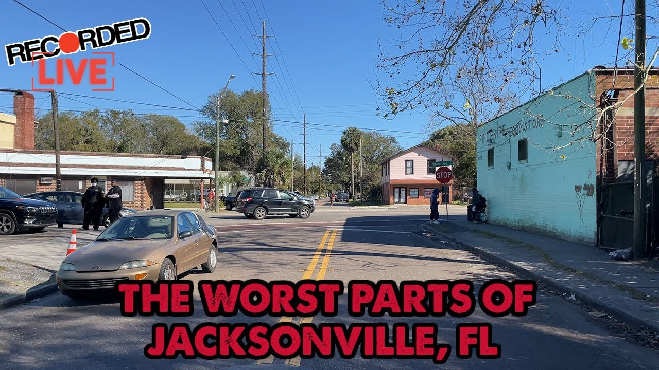 Here's Jacksonville, Florida's Most Dangerous Neighborhood