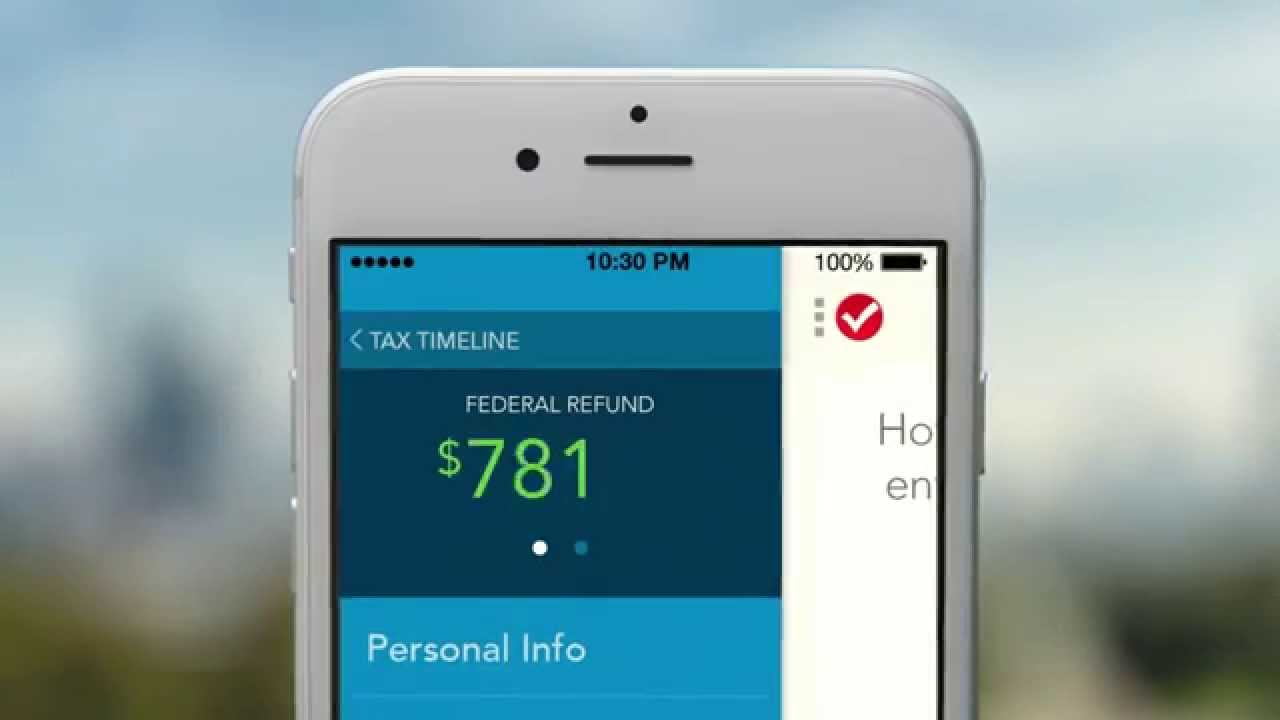 turbotax mobile app - capture your w-2, do your taxes anytime