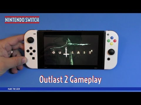 Nintendo Switch: Outlast 2 Gameplay