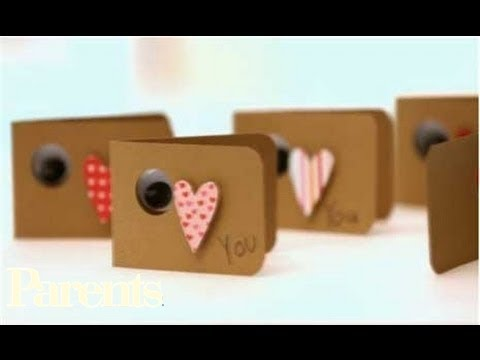 How To Make Heartfelt Valentine S Day Cards Parents Youtube