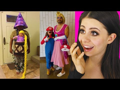 The Funniest Parent And Child Halloween Costumes!