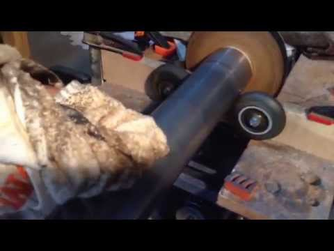 Sanding & Polishing Drill Press Column