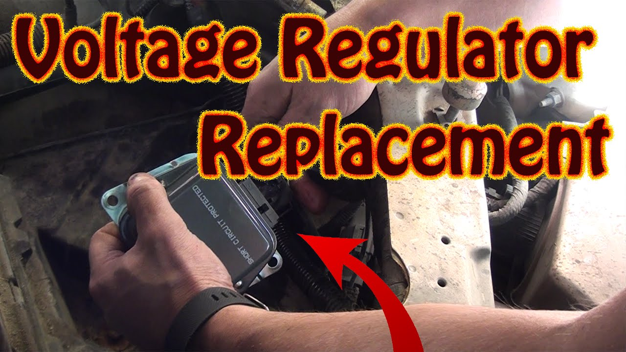 Diy How To Replace Lincoln Continental Voltage Regulator Fix F150 Alternator Warning Light Wiring Diagram Charge System Error Youtube