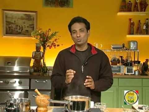 Rasam - South Indian Soup - Charu Saaru - By VahChef @ VahRehVah.com