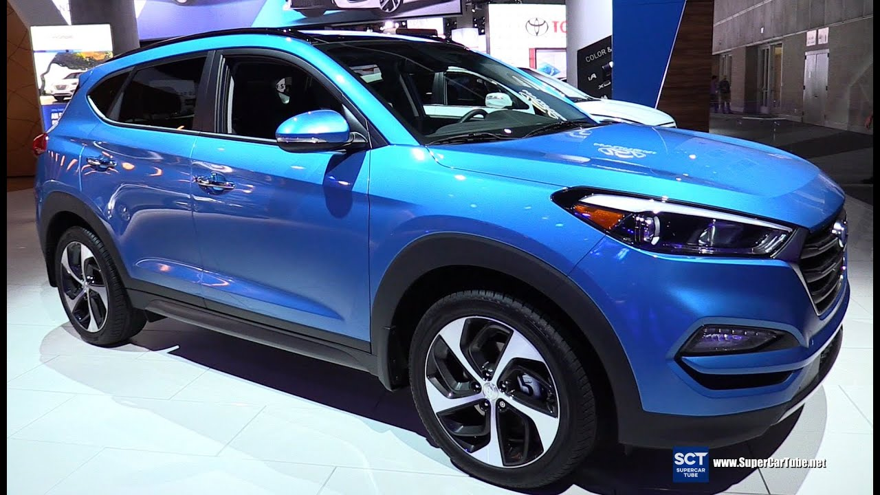 Fantastic 2016 Hyundai Tucson Limited 16T AWD  Exterior And