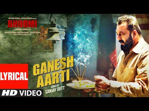 ganesh-aarti-(lyrical-video)-|-sanjay-dutt-|-bhoomi