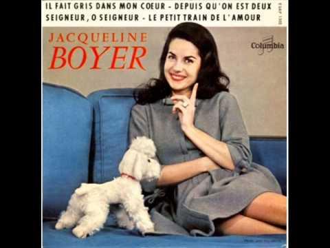 Jacqueline Boyer  Il fait gris dans mon coeur