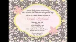 baby shower invitation wording | Swathi Kk