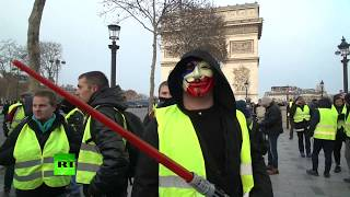 Yellow Vests gone intergalactic? 'Sith' seen protesting in Paris