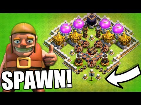 Thumbnail: DON'T FALL FOR THE TRAP!! - Clash Of Clans - ULTIMATE LOOT TROLL!