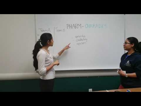 """Pharm-Charades""  - Pharmacy game #NSU"