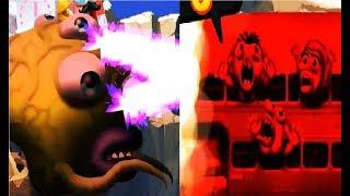 Zombie Tsunami 36 Игровой мультик для детей про зомби, веселый детский мультик игра для малышей