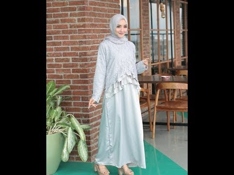 Model Gaun Hijab Cantik Dan Anggun Untuk Pesta