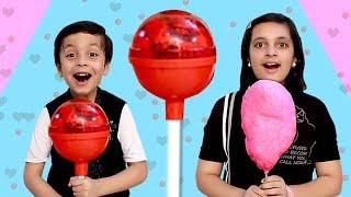 CANDY CHALLENGE #Funny Parents vs Kids #Toffee | Aayu and Pihu Show