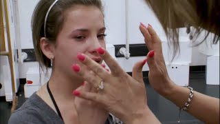 Dance Moms - Paige Accidentally Hits Brooke with the Prop (S1 E05)