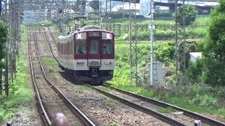 【近鉄南大阪線6620系】急行大阪阿部野橋ゆき通過シーン。