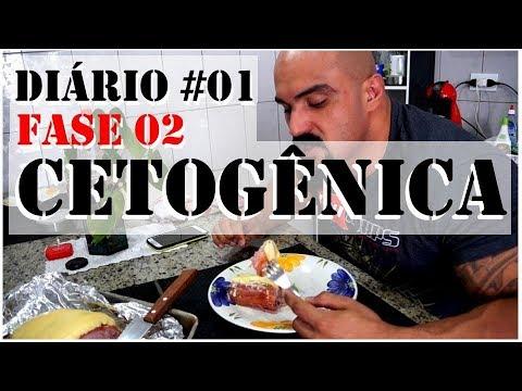 Minha Dieta Cetogênica - Fase 02 - Diário #01