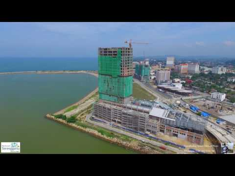 View of Construction Sites at Ladang/Tanjung Kuala Terengganu - DJI P3P