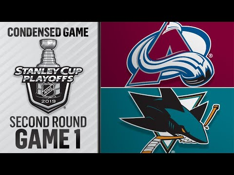 04/26/19 Round 2, Gm1: Avalanche @ Sharks