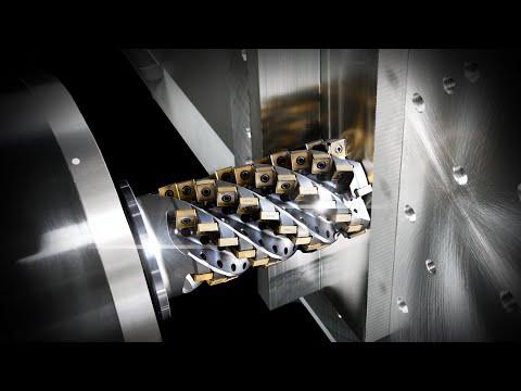 200 HP | HSK 125 | Makino T2 6-Axis Horizontal CNC Machining Center | INSANE For Cutting Titanium