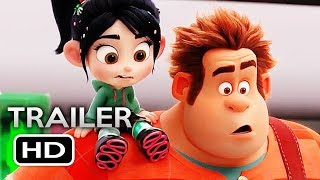 WRECK-IT RALPH 2 Official Trailer 4 (2018) Ralph Breaks the Internet Disney Animated Movie HD