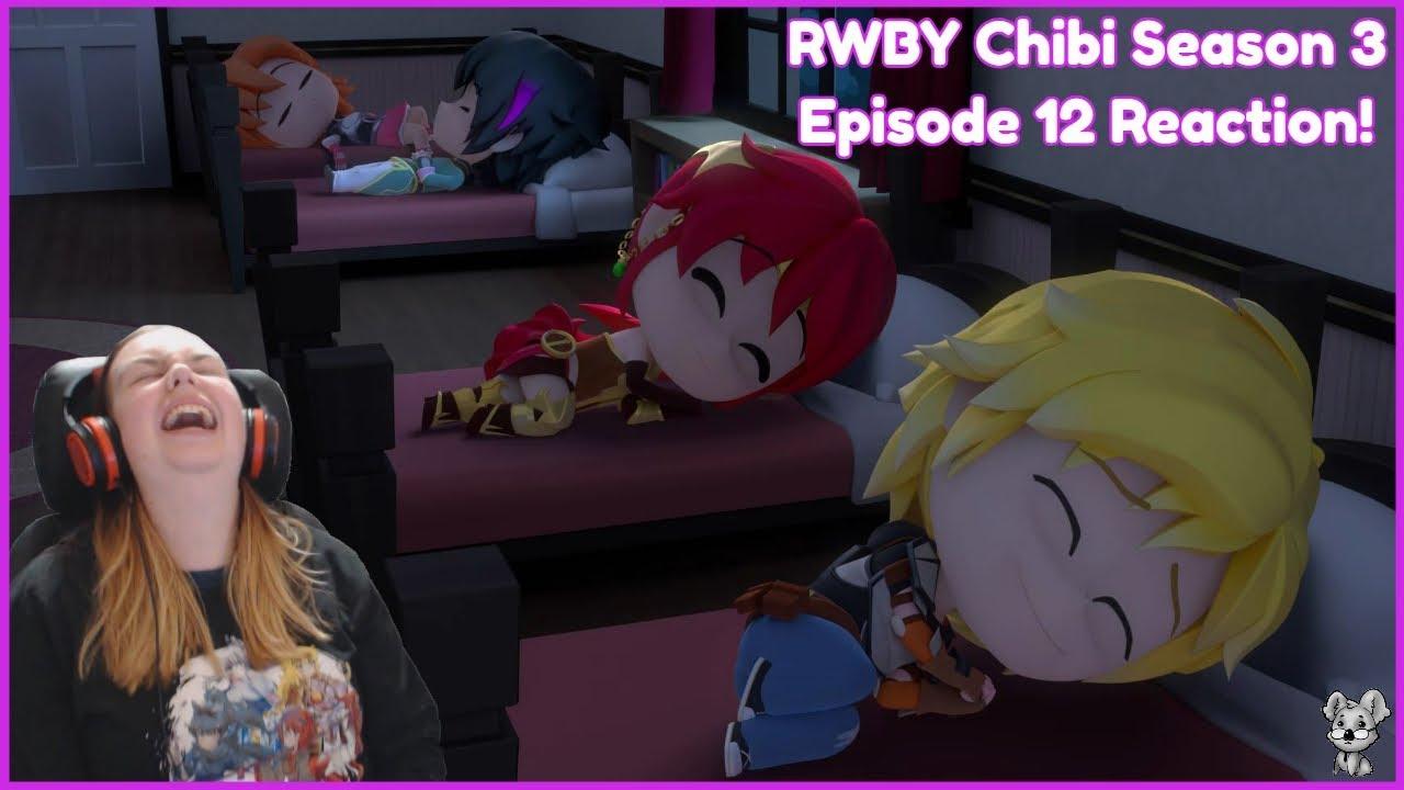 Uncle QrowCrow! RWBY Chibi Season 3 Episode 12 Reaction!