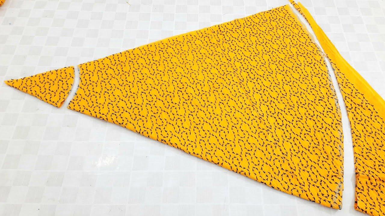 Very Easy Long Umbrella Skirt Cutting and Stitching ll By Pakistani Fashion Designer