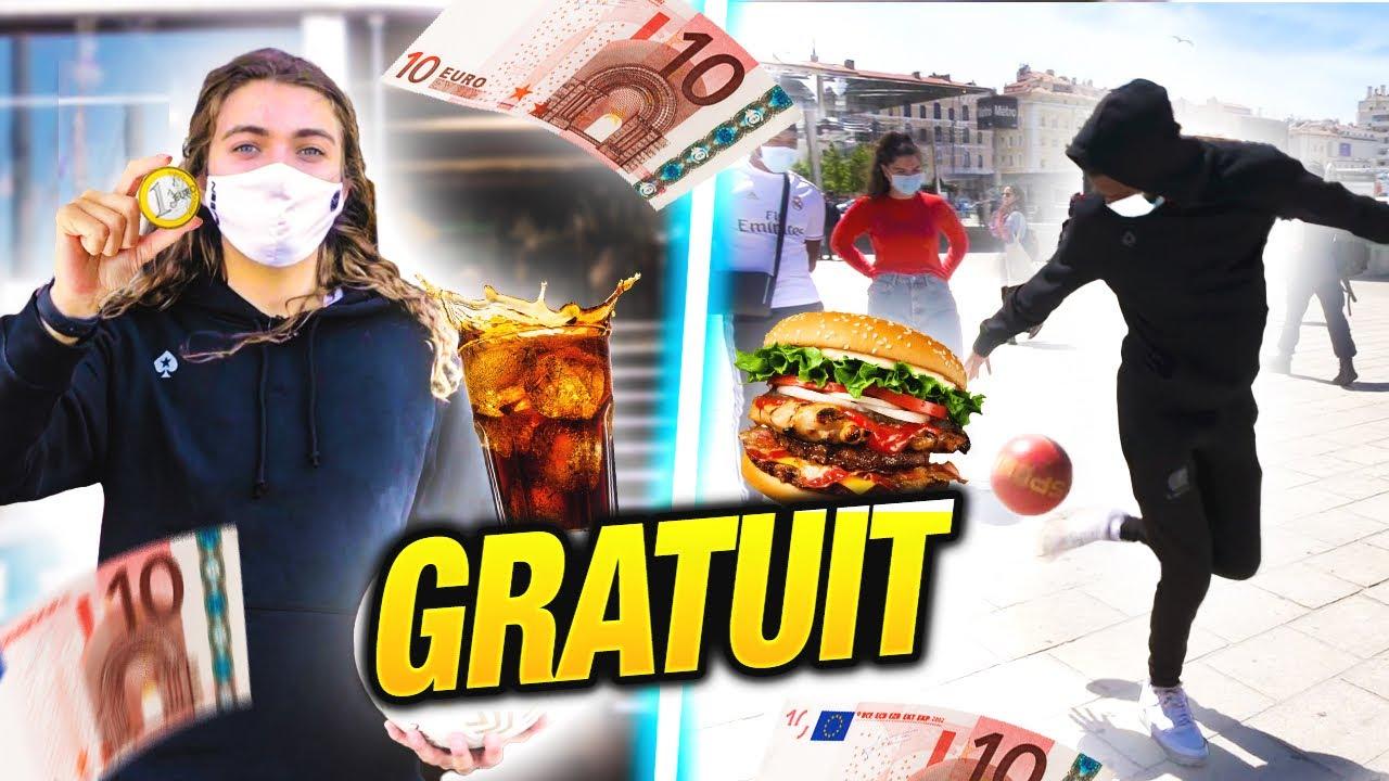 ILS DEVRONT TOUT AVOIR GRATUIT GRÂCE À LEURS TALENT!