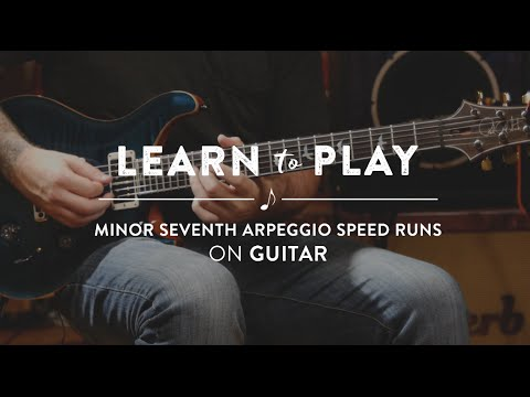 Learn To Play Minor 7th Arpeggio Speed Runs (Metal, Jazz, Rock) | Reverb Guitar Lesson