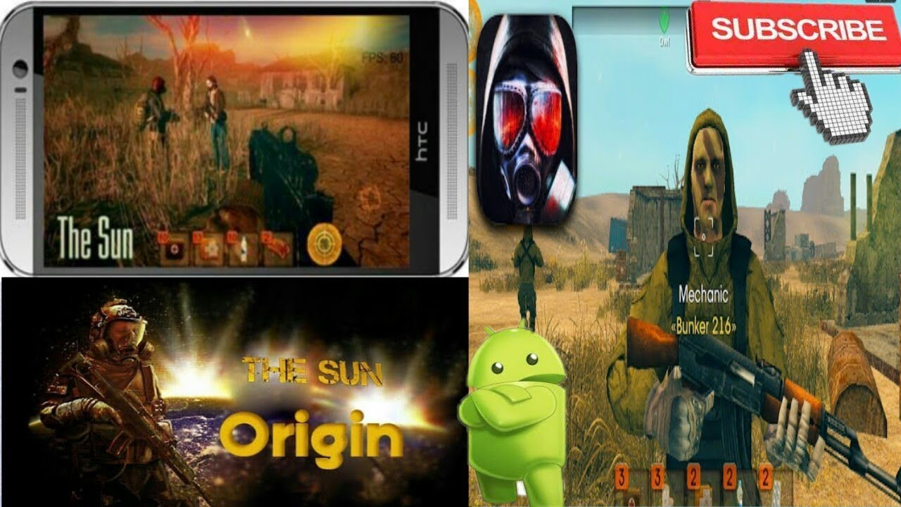 The Sun : Origin Apk + Obb | FPS Game For Android 2017 |  #Smartphone #Android